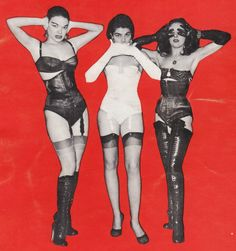 """""""Hear no Evil, Speak no Evil, See no Evil"""" cover from Exotique Photo Album Number Three, circa 1958 (No Date in Publication)"""