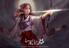 Le Vuong Artist – Share via Artstation iOS App, Artstation © 2017 Female Character Design, Character Concept, Character Art, Fantasy Characters, Female Characters, Dnd Characters, Ninja, Japanese Warrior, L5r