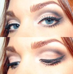 This gives you a cat eye diva look