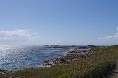 Aux îles Glénan un paysage sublime ! Bretagne