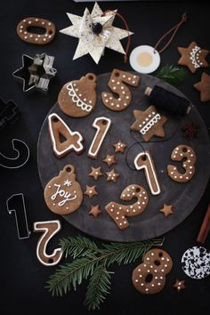 Gingerbread's numbers