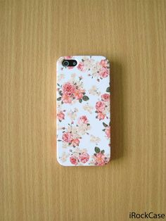 Vintage Roses Garden Phone Case Vintage Floral iPhone by iRockCase