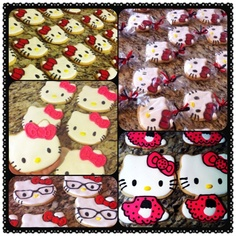 Hello Kitty Sugar Cookies..