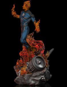 ArtStation - Human Torch FA, Earl Vincent Kasilag Marvel Costumes, Human Torch, Fantastic Four, Marvel Art, Wolverine, Comic Books Art, Marvel Universe, Fan Art, Comics