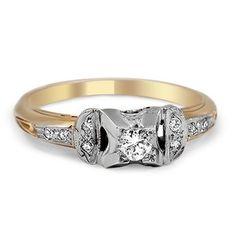 The Michima Ring #BrilliantEarth #Vintage