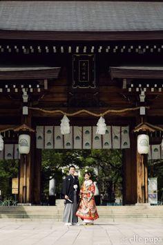 湊川神社と神戸の街をぷらり* |*elle pupa blog* Wedding Couple Photos, Wedding Couples, Kimono Style, Kimono Fashion, Kobe, Fashion Photo, Spaces, Travel, Valentines Day Weddings
