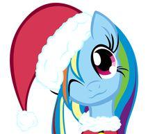 Merry Little Rainbow Dash by Soohable.deviantart.com on @DeviantArt