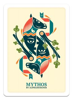 Mythos Deck of Cards by Alphadesigner