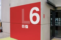 Water Front City Carpark Wayfinding Environmental Graphics