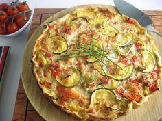 Recipe Main Dish : Tarte piperade by Mullally51