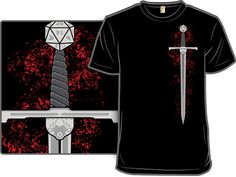 Woot Shirt - +5 Sword of Critical Hits. Got this one for Carl for Hanukkah. No, really!