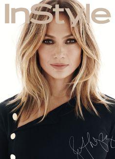 Jennifer Lopez by Greg Kadel for InStyle US February 2016 cover