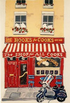 Books for Cooks, London