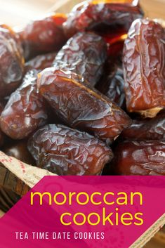Learn to make these easy, no-bake Moroccan cookies with this recipe. Moroccan Pastries, Date Cookies, Bite Size Cookies, Cake Stall, Toasted Almonds, Middle Eastern Recipes, Almond Recipes, Foodie Travel, Tea Time