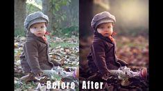 Photoshop Tutorial How to Edit Outdoor Portrait (Child) in Photoshop Cs6...