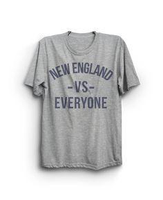 NEW ENGLAND vs EVERYONE T-shirt
