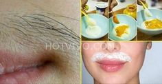 Remove Upper Lips Hair Naturally At Home