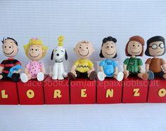 Turma Snoopy (só bonecos,cubos opcional)                              …