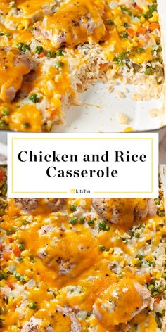 How To Make Creamy Chicken and Rice Casserole Chicken Rice Casserole, Casserole Recipes, Creamy Chicken And Rice, Low Sodium Chicken Broth, Dinner Recipes, Dinner Ideas, Meal Ideas, Main Dishes, Chicken Recipes