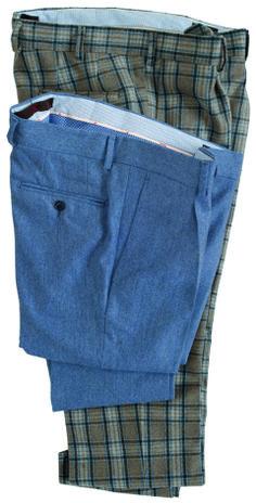 #pantaloni da uomo #trousers   modello #Galles in tela follata stretch  modello in #flanella #melange   #menswear #fashion collezione #GioZubon #Lubiam #Al2014 Luigi Bianchi Mantova
