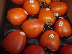 Persimmons - another superfood that is so tasty AND good for you! Fresh in this week - stop by today and grab a few!