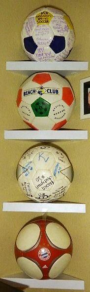 Soccer Balls In The Corner