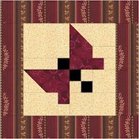 Quilter's fun: Free Butterfly Quilt Pattern