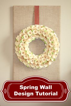 Spring Wall Design Feature 640 Spring Wall Design and Link Party