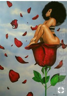 65 Ideas for black art queens goddesses african americans Art Black Love, Sexy Black Art, Black Girl Art, Art Girl, Black Girls Drawing, Arte Dope, Dope Art, Black Art Painting, Black Artwork