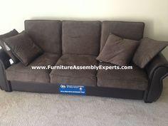 Wayfair Harper Multi Position Sleeper Storage Sofa Embled In Reston Va By Furniture Embly Experts