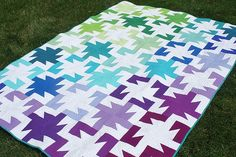 Sparkler Quilt by Freshlypieced, via Flickr