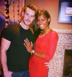 Gorgeous couple #love #wmbw #bwwm