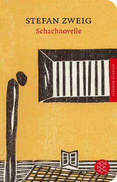 Stefan Zweig, Schachnovelle Stefan, Fischer Verlag 2012. Cover Illustration Elke Rehder.