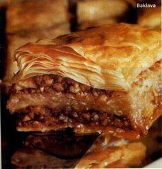 Baklava (török mézes rétes)