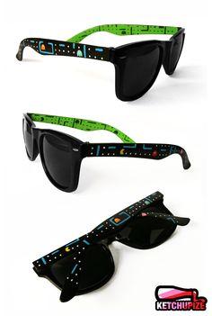 Custom Pac-Man Sunglasses byKetchupize ($39.84)