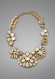 my take on the crown jewels :p    CAROLEE Multi-Stone Cast Collar Necklace