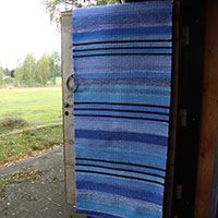 Recycled Fabric, Woven Rug, Weaving, Textiles, Rag Rugs, Studio, Carpets, Inspiration, Home Decor