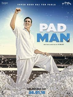Pad Man 2018 Hindi Full Movie DVDScr 300MB