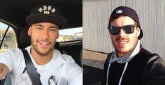 Neymar, Bruno Rezende e Thiaguinho são alguns dos famosos que estão divulgando a campanha 'Para Poder Abraçar'