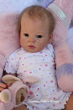 7.6 Arianna awake Doll Kit - Reborn Doll Kits