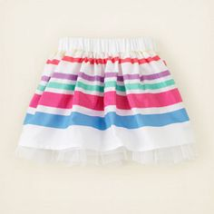 The Children's Place striped dressy skirt