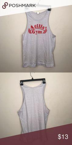 7cf8b27dd8e7ee Men s gym shirt Sleeveless gym shirt Size large Length  29 inches Shirts Tank  Tops