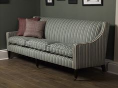 Fermoie on furniture - York Stripe - furniture manufactured by George Smith
