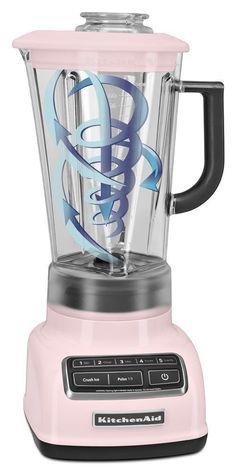 KitchenAid Blender 5-Speed Diamond Vortex BPA Free Pitcher Stir Chop Mix Pink #KitchenAid
