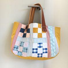 patchwork tote bag by Karen