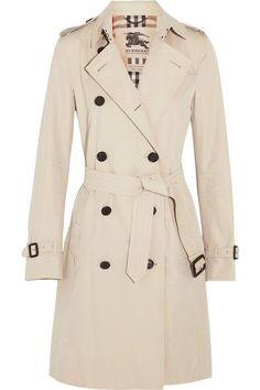 Part of the Burberry Heritage collection Beige cotton-gabardine Button fastenings through double-breasted front  100% cotton; buttons: 100% horn (Buffalo); body lining: 100% cotton; sleeve lining: 100% viscose Dry clean Designer color: Stone
