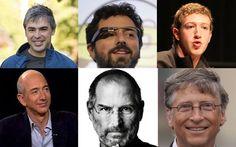 Os maiorais da tecnologia
