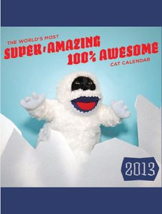 Super, Amazing, 100% Awesome Cat Calendar by Kate Funk