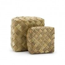 Pandanus Square Box Small Outer Approx - Kiwiana - By Occasion - Products