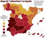 """La España """"mileurista"""""""